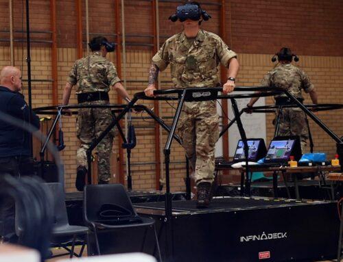 British Army Trialling Virtual Reality Training Technology